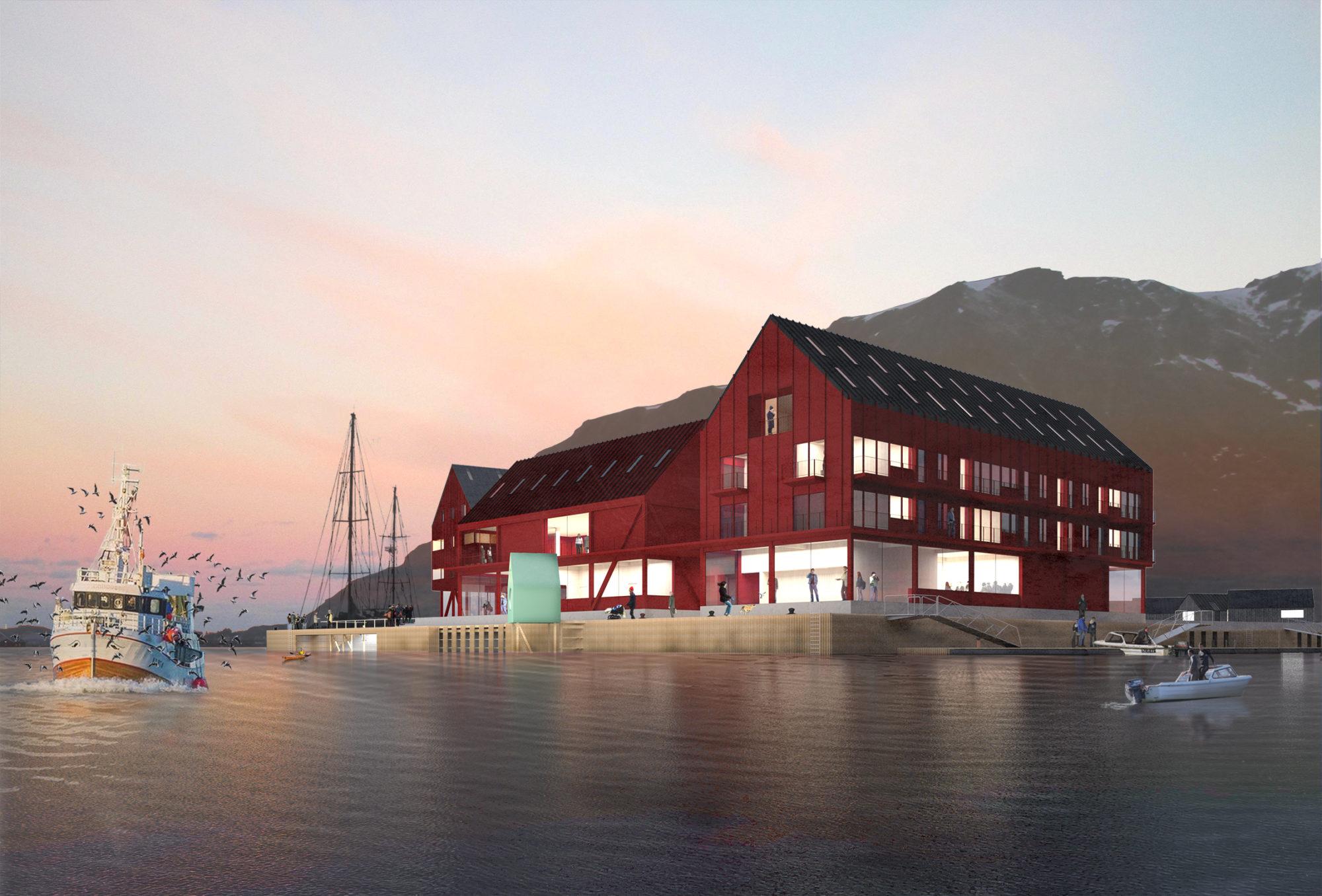 REINEHOLMEN – fra Ballstadøya – VÅG ARKITEKTUR AS