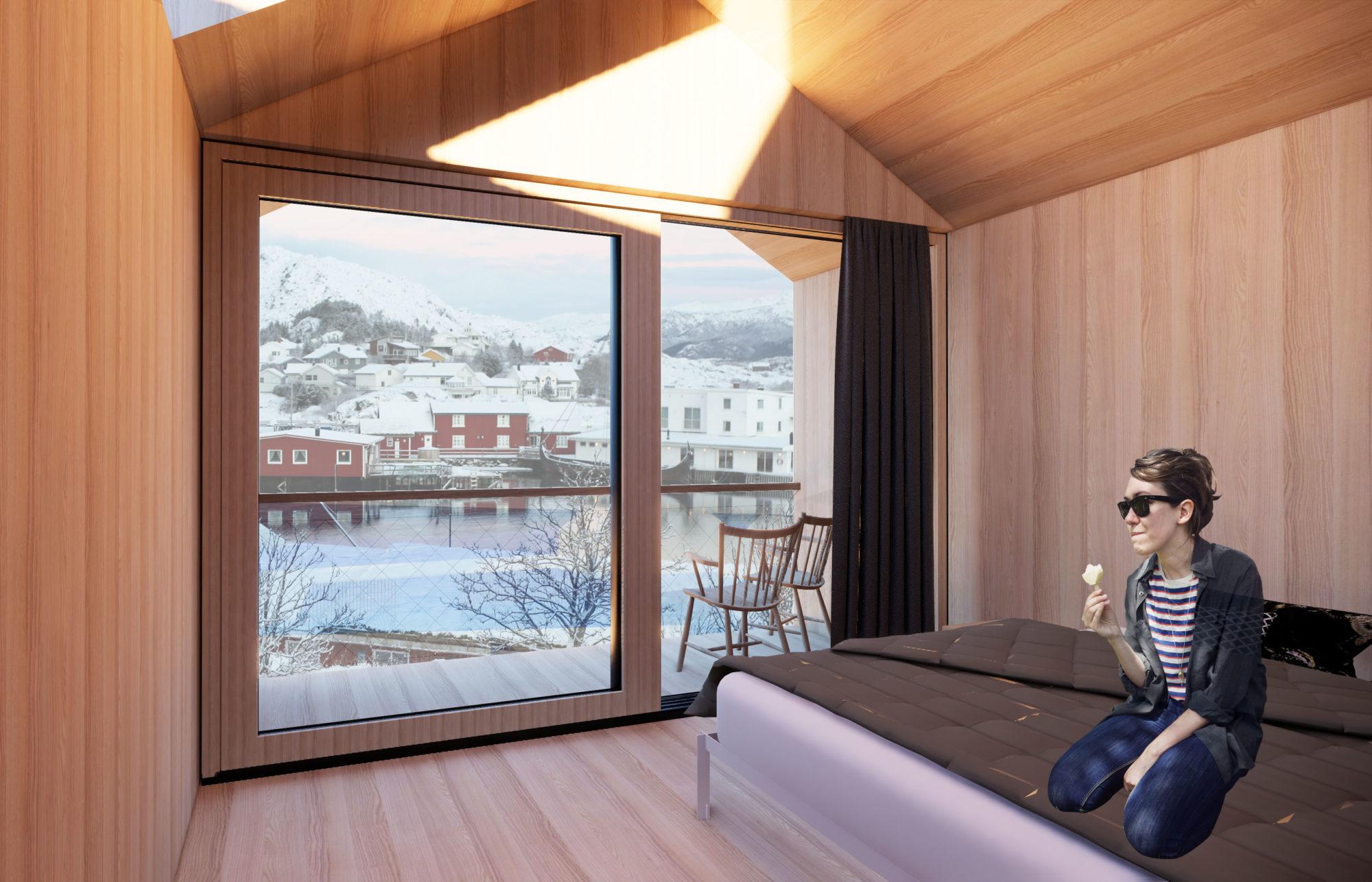 Hattvika Lodge - VÅG Arkitektur AS