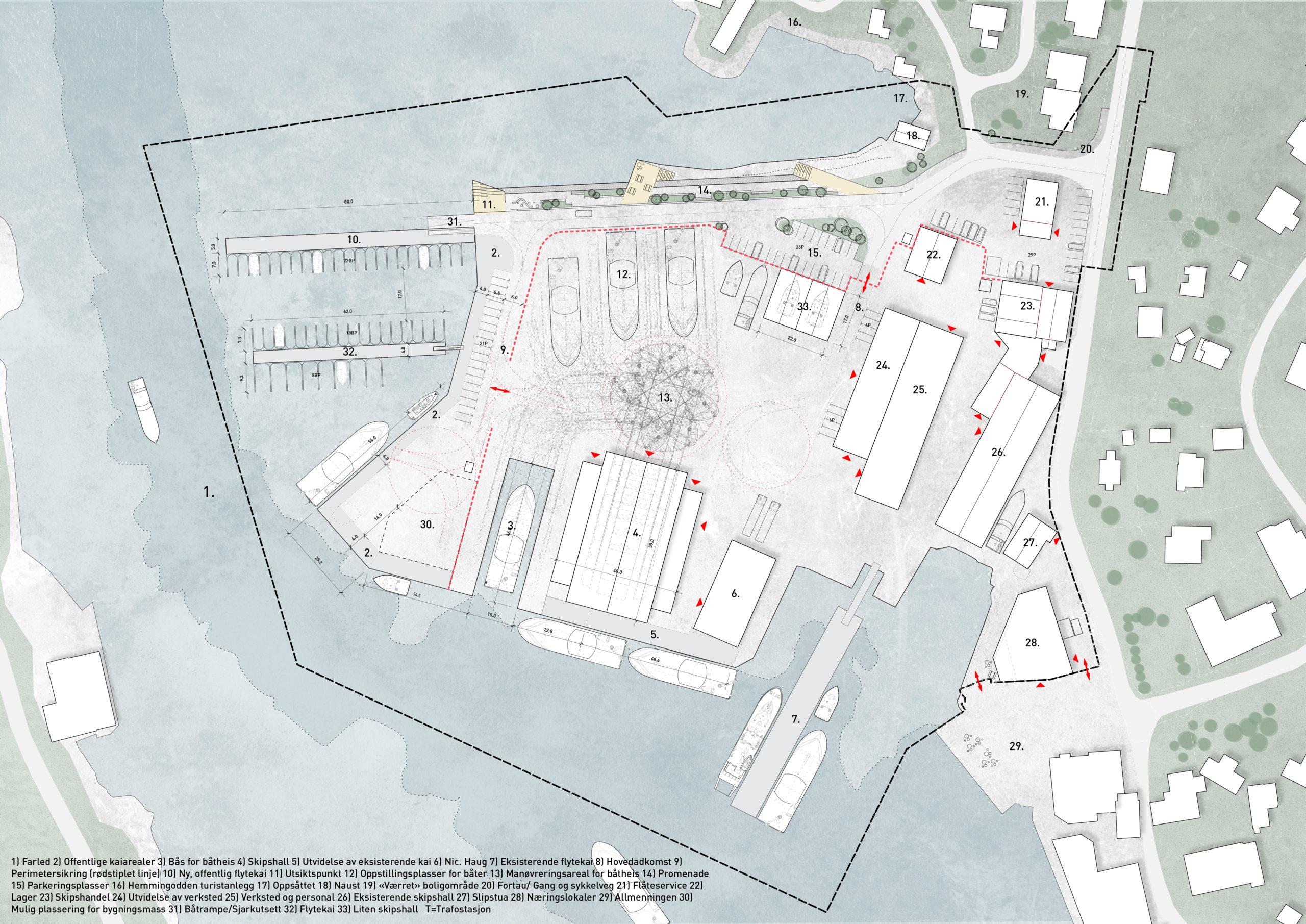 Ballstad-Servicehavn-Illustrasjonsplan-©VAG-LOFOTEN-AS