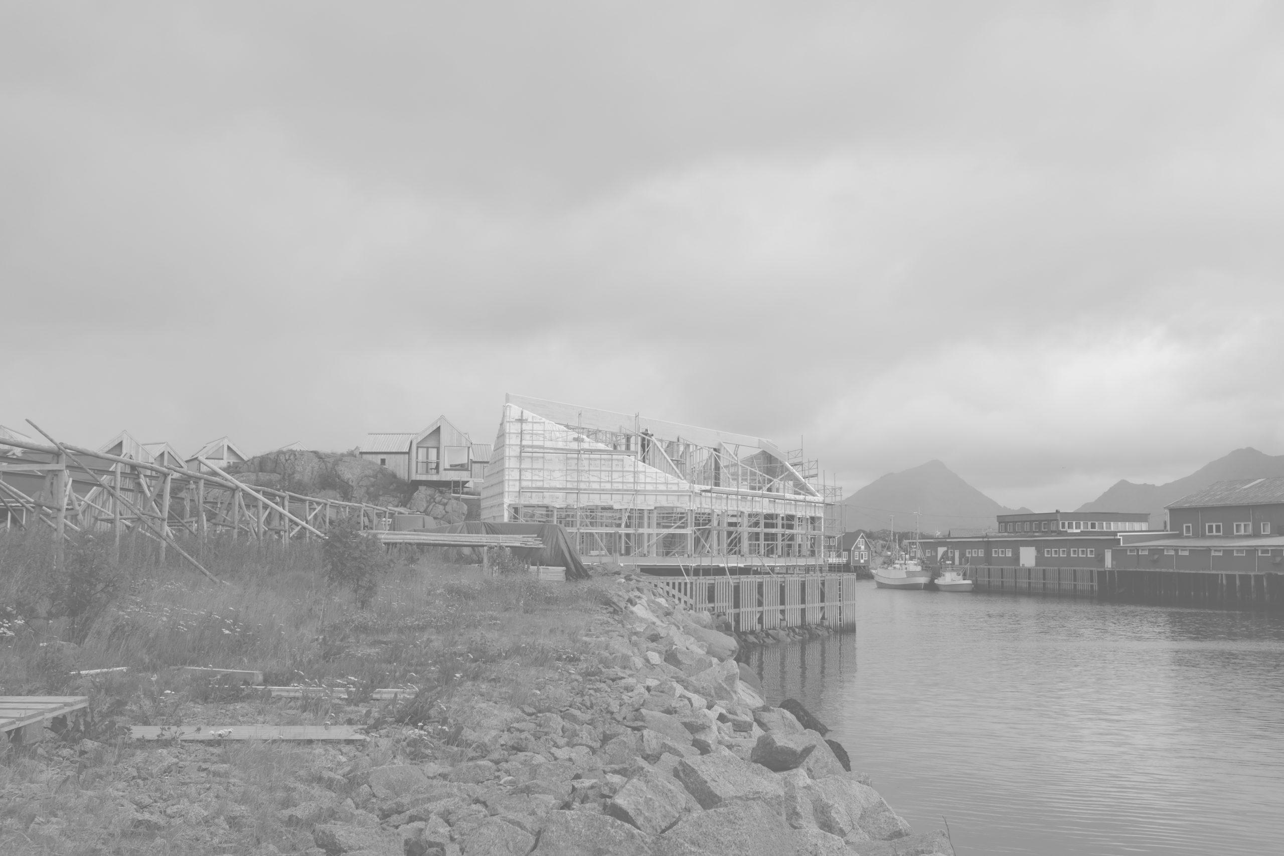 Hattvika-Lodge-under-construction-©-VAG-LOFOTEN-AS